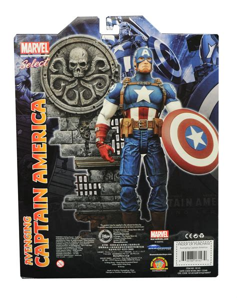 Marvel Select Captain America Disney exclusive avenging captain america black panther and winter soldier coming to marvel shop and
