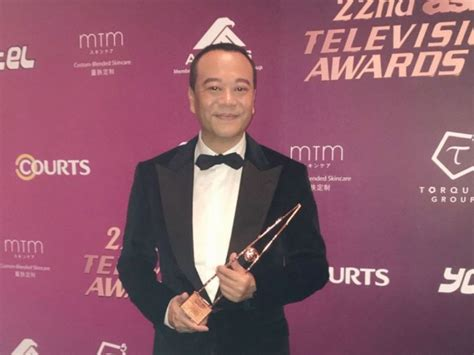 hong kong actor bobby au yeung bobby au yeung elated with asian tv awards win