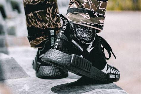 Neighborhood X Adidas Nmd R1 Japan Black White Bnib neighborhood adidas nmd black boost da8835 sneaker bar