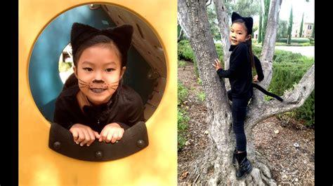 cute kitty cat girl halloween costume ideas youtube
