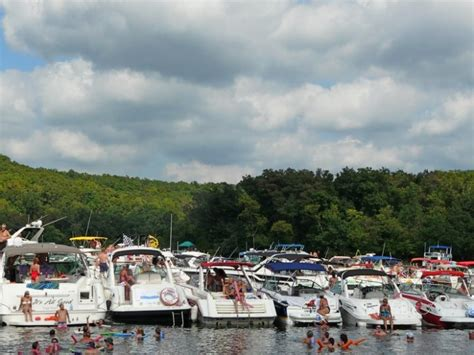 lake of ozarks boat rental close to party cove 15 adventurous places to go in missouri