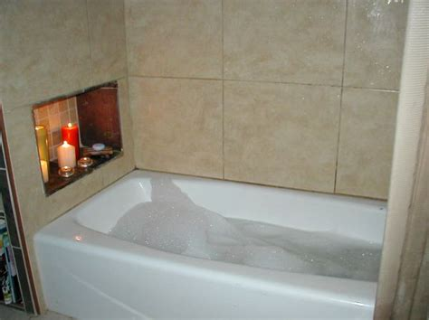 bathroom tub surround tile idea