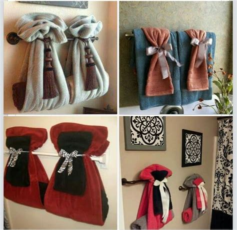 bathroom towel hanging ideas 17 best images about fancy towel folding on pinterest bathrooms decor fold towels and guest