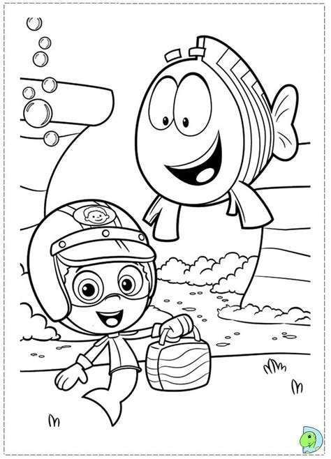 free printable coloring pages guppies guppies coloring page dinokids org