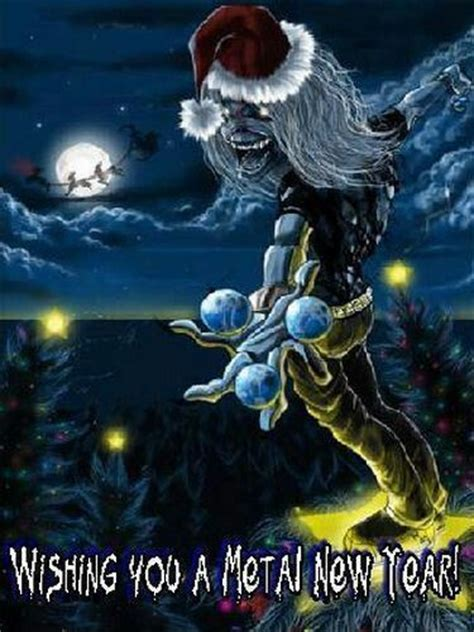 new year metal iron maiden new year s and irons on