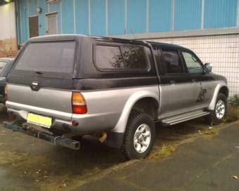 Water Mitsubishi Strada L200 25 Cc 1998 mitsubishi l200 for sale 2500cc diesel manual for