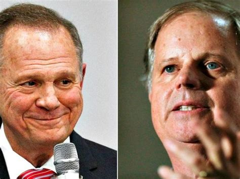 roy moore final polls poll roy moore up 5 points over doug jones in late race