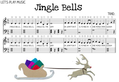 tutorial piano beginner easy jingle bells sheet music for piano lesson plans le