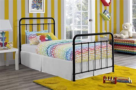 iron twin bed dhp furniture dhp brooklyn iron twin bed