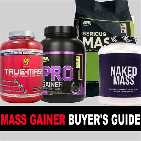 best protein mass gainer best mass gainer buyer s guide for 2016