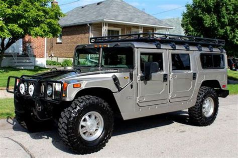 2002 hummer h1 suv 113459 purchase used 2002 hummer h1 wagon in stunning showroom condition in etobicoke ontario canada