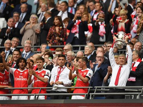 arsenal wins the fa cup final after crushing chelsea sports arsenal win the fa cup and end chelsea s double hopes in
