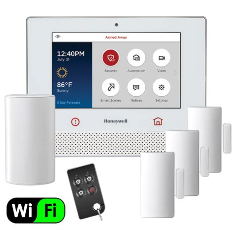 Wireless Alarm System honeywell lyric wifi wireless security system kit