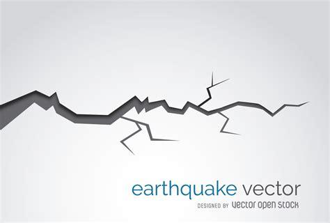 Customizable Floor Plans earthquake crack illustration vector download