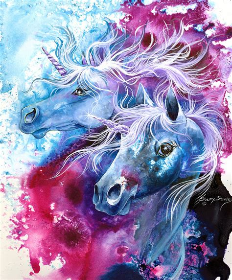 painting unicorn unicorn magic by sherry shipley
