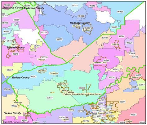 zip code map yuba county madera county ca zip code map madera california zip codes