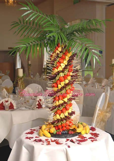 palm tree made of fruit banquet halls and catering impressionnant centres de