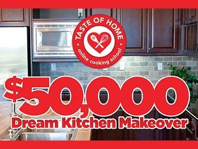 Dream Kitchen Sweepstakes 2015 - www tohcookingschool com sweepstakes win culinary merchandise or a check worth