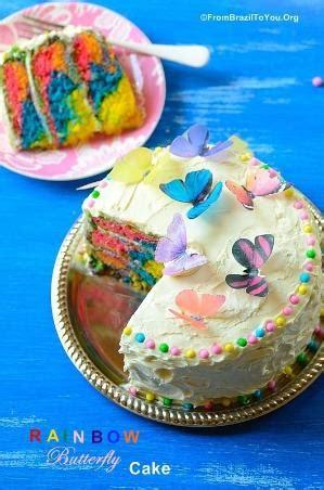 Rainbow Buttercream Uk15 1 rainbow cake w rainbow frosting