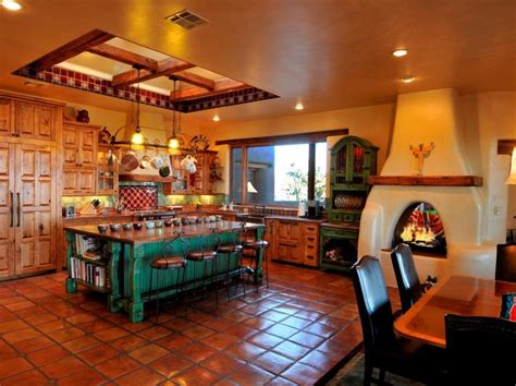 1000 ideas about mexican style kitchens on kitchen hacienda kitchen and