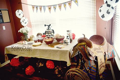 Lil Cowboy Baby Shower by Bird And Branch Baby Shower