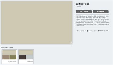 benjamin camouflage http www benjaminmoore en us paint color camouflage paint