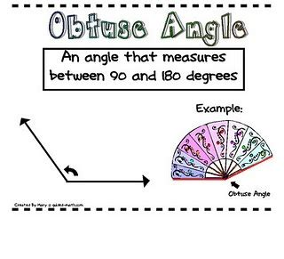 printable angles poster 17 best images about angles and measuring on pinterest