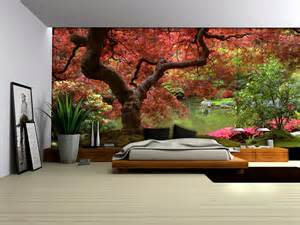 wallpaper wall murals uk red tree wallpaper murals by homewallmurals co uk