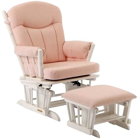 Pink Nursery Chair - pink glider for nursery thenurseries