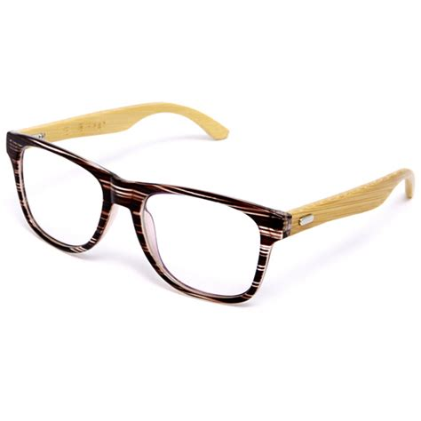 Handmade Eyeglasses Frames - japan handmade bamboo ultra light glasses frame vintage