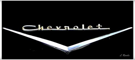 chevy logo chevrolet logo photograph by leslie revels andrews