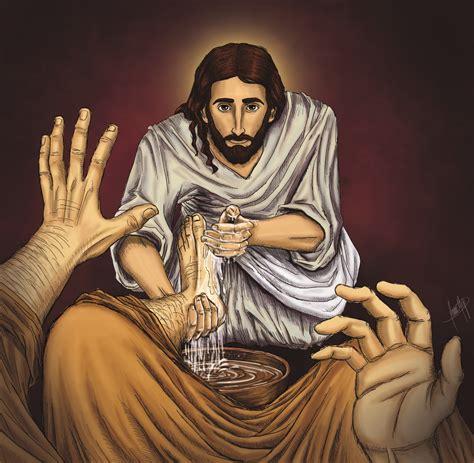 imagenes de jesus lavando los pies lo mejor para cristo 191 cu 225 l es el significado del gesto