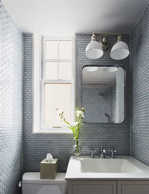 Bathroom Tile Designs Small Bathrooms this bathroom tile design idea changes everything
