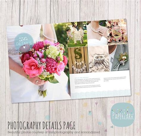 33 Page Wedding Photography Magazine Template Pg020 Paper Lark Designs Wedding Photography Magazine Template