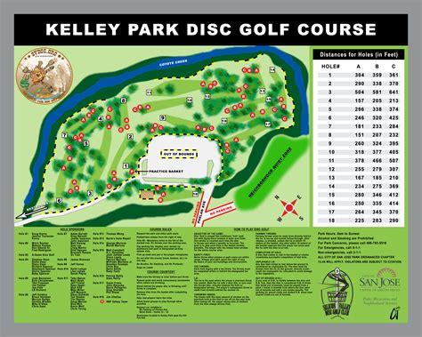 san jose golf map courses silicon valley disc golf club