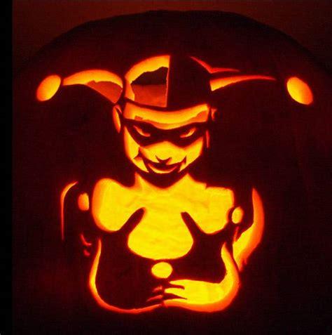 Harley Quinn Pumpkin Template 17 book inspired pumpkins