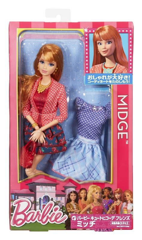 barbie dream doll house barbie life in the dreamhouse midge doll
