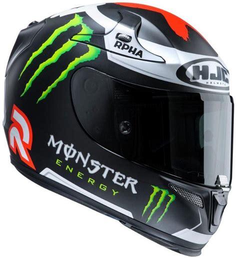 Motorradhelm Moto Gp by Hjc Rpha 10 Plus Matt Lorenzo Replica Monster Energy