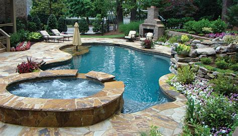 outdoor spas small pools atlanta home improvement
