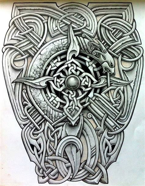 celtic back tattoo designs viking designs haku testi