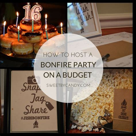 Host A Bonfire Party On A Budget For Teens Or For Anyone