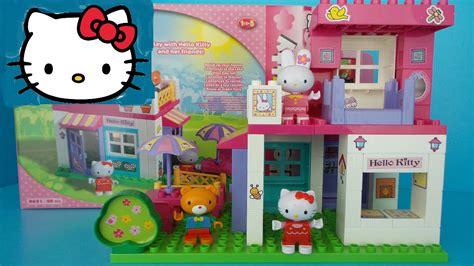 huis bouwen van duplo hello kitty en haar vriendjes bouwen een huis van duplo