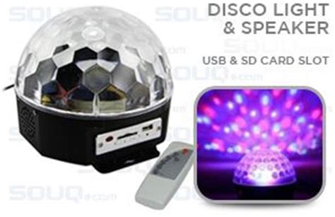 Usb Disco Light Fever by Remote Controlled Disco Light Speaker With Usb Sd Card