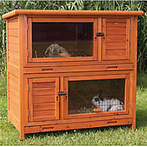 Rabbit Hutch Petsmart trixie 2 in 1 insulated rabbit hutch small pet hutches