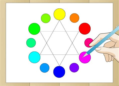 12 all colors how to draw a color wheel 6 steps with pictures wikihow