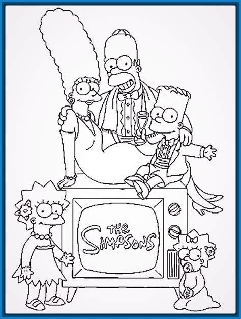 imagenes navideños dibujos buscar imagenes para colorear de los simpson archivos