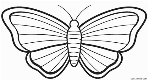 black and white coloring pages of butterflies printable butterfly coloring pages for kids cool2bkids