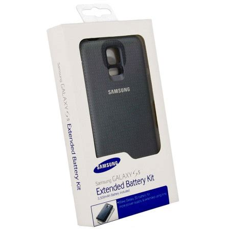 Dijamin Battery Power S5 Black 3500 Mah official samsung galaxy s5 3500mah extended battery and cover black