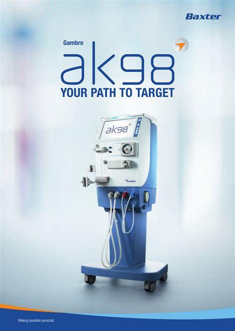 Harga Pac Jerman baxter launches new ak 98 hemodialysis system designed to