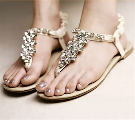 Bridal Shoes Flat Sandals by Flat Sandal Wedding Shoes For Simple And Look